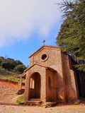 Small Chapel in Montserrat Mountain, Spain Stock Photography