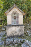 A small chapel in the mountains. Balkans, Montenegro Royalty Free Stock Photography