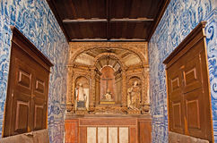 The small chapel in Porto Cathedral Stock Images