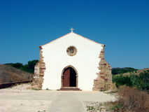 Small chapel in Portugal stock photos