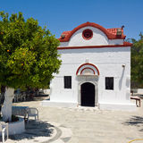 Small Chapel, Rhodes, Greece Royalty Free Stock Photos
