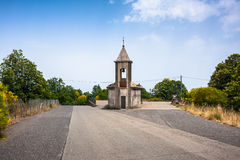 Small chapel in Sicily Stock Image