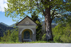 Small chapel at Sorica. Small chapel at village of Sorica royalty free stock image
