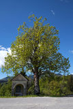 Small chapel at Sorica. Small chapel at village of Sorica royalty free stock photo