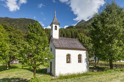 Small chapel in South Tyrol Stock Photo