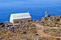 Small chapel of Timios Stavros Royalty Free Stock Images