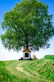 Small Chapel with Tree Stock Images