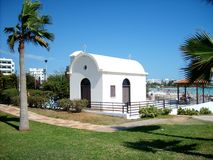 A small chapel from Agia Napa. Stock Image