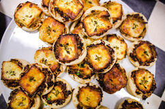 Small Cheese Tarts Stock Photography