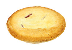 Small cherry pie Royalty Free Stock Photography