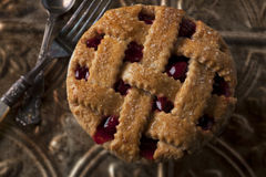 Small cherry pie Royalty Free Stock Photos