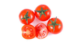 Small cherry tomato Stock Image