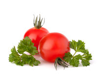 Small cherry tomato and parsley spice Stock Photo