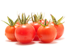 Small cherry tomatoes Royalty Free Stock Photos