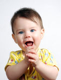 The small child Stock Photo
