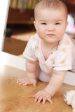 Small child. Games of the small child Royalty Free Stock Photos
