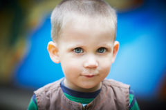 Small child close-up Royalty Free Stock Photography