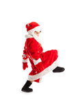 Small child dressed as Santa Claus Royalty Free Stock Images