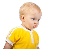 Small child sad Royalty Free Stock Images