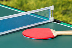 Small child table tennis Stock Image