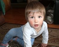 A small child Royalty Free Stock Photography
