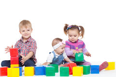 Small children Stock Images