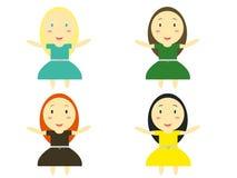 Small Children Illustration Stock Image