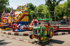 Small Children Playground Area Royalty Free Stock Images