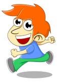 Small children ran Royalty Free Stock Image