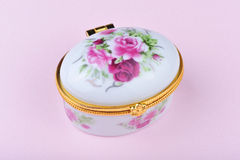 Small china jewel box Stock Photography