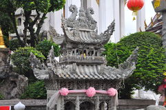 Small Chinese shrine in Buddhist Temple Royalty Free Stock Image