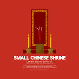 Small Chinese Shrine. Small Chinese Shrine Vector Illustration Stock Photography