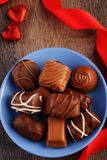 Small chocolate candies Royalty Free Stock Image