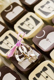 Small chocolates Royalty Free Stock Photos