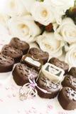 Small chocolates Royalty Free Stock Photo