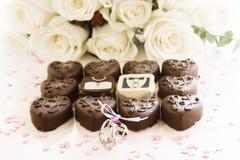 Small chocolates Royalty Free Stock Image