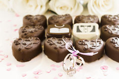 Small chocolates Royalty Free Stock Photo