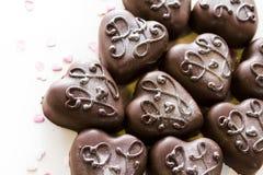 Small chocolates Stock Image