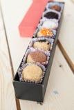 Small Chocolates Cakes Stock Image