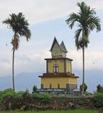 Small christian chapel on samosir island Stock Photos