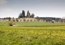 Small Christian Church Bysicka Royalty Free Stock Image
