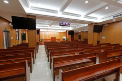 Small christian church Royalty Free Stock Photography