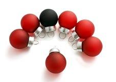 Small Christmas balls Royalty Free Stock Images