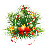 Small Christmas fir Stock Images