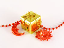 Small christmas gift Stock Photography