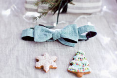 Small christmas items Stock Images