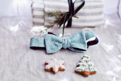 Small christmas items Royalty Free Stock Image