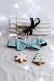 Small christmas items Stock Photo