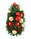 Small christmas tree decoration Stock Photography