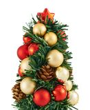 Small christmas tree decoration Royalty Free Stock Image